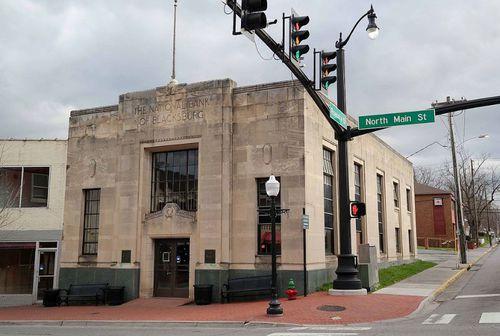 The National Bank of Blacksburg in Virginia was targeted by hackers.
