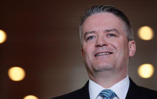 Finance Minister Mathias Cormann. (AAP)