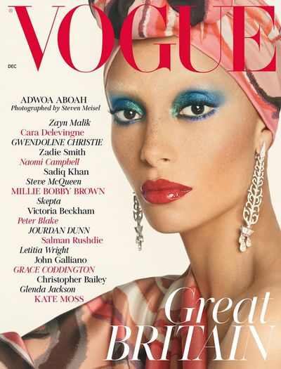 Adwoa Aboah, British Vogue November 2017