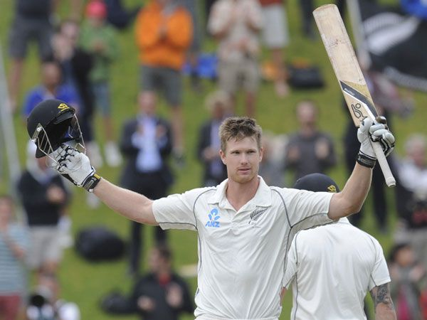 New Zealand allrounder James Neesham. (AAP)