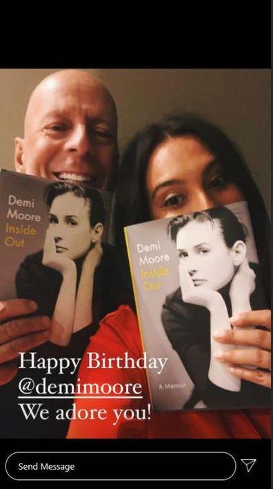 Demi Moore, 58th birthday, Instagram, tributes, Bruce Willis, Emma Heming