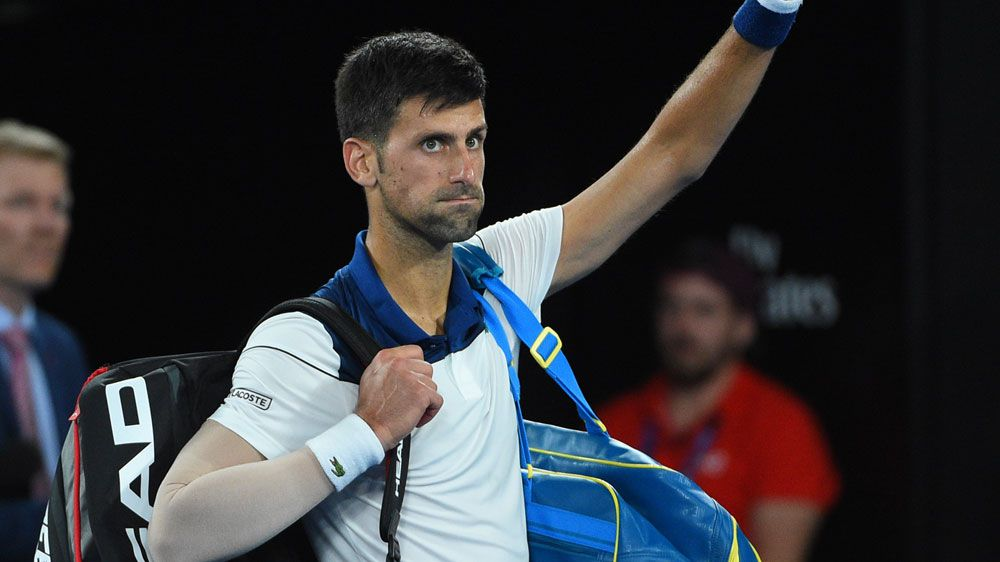 Novak Djokovic set for scans after Australian Open exit