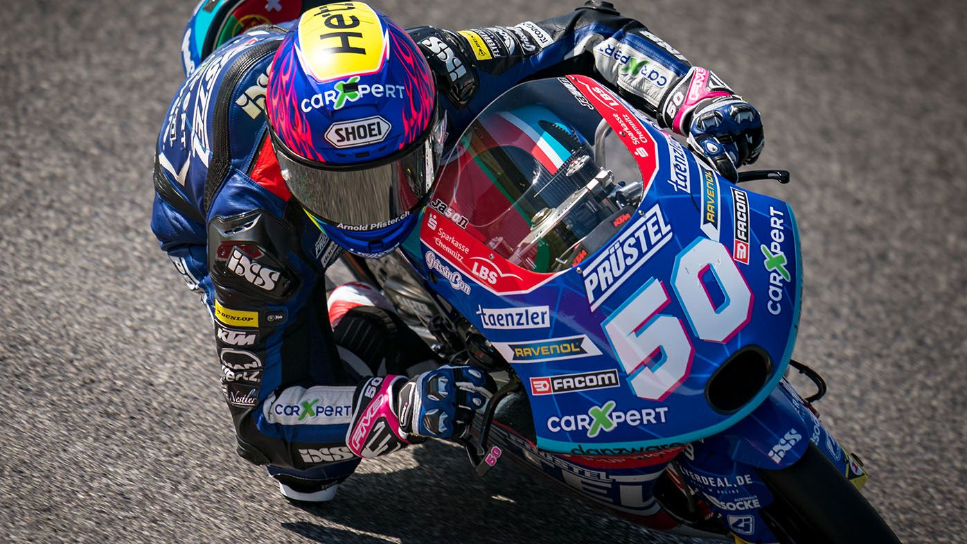 Moto3 rider Jason Dupasquier in serious condition after horrific crash at Mugello