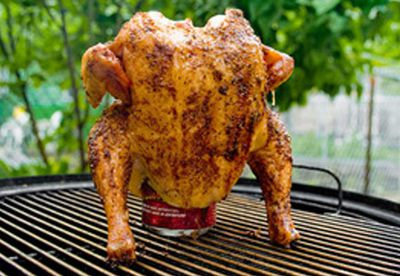 Basic beer can chicken