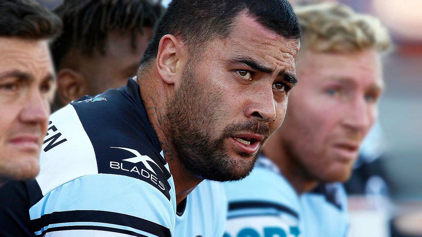 Cronulla Sharks star Andrew Fifita calls out racist social media post