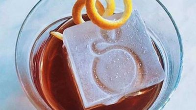 <strong>Signature ice-cubes at Gwen </strong>