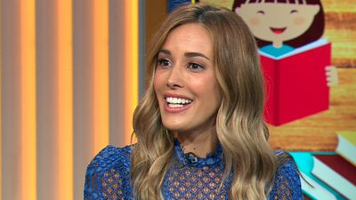 Rebecca Judd reveals she once accidentally tried to kiss AFL star Jarrad McVeigh