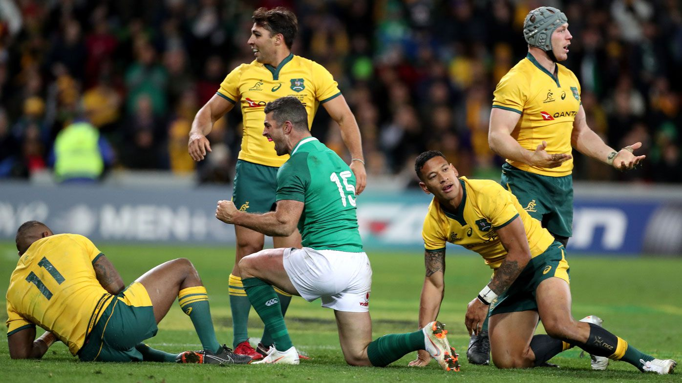 Ireland beat Wallabies in second Test to end 39-year hoodoo