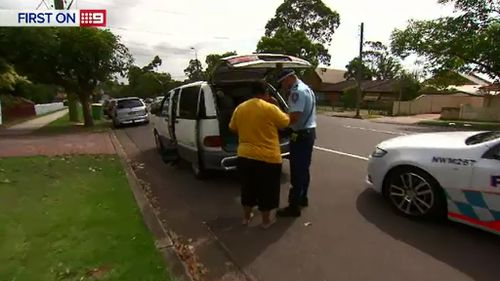 Police cracked down on road safety. (9NEWS)