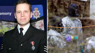 Cop exposed in nerve agent attack discharged from hospital