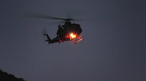 Police are urging those who find themselves in trouble to contact emergency services as soon as possible as darkness makes search efforts harder.