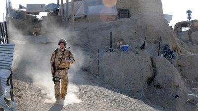 Prince Harry serves in the British Army in Afghanistan