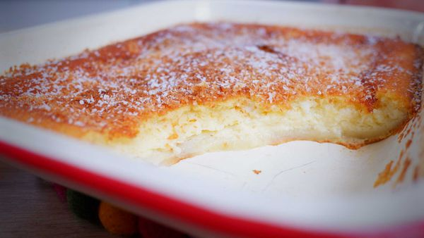 9Honey Every Day Kitchen: This classic dessert looks like pie crust, filling and topping