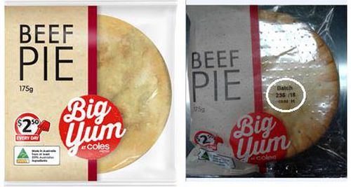 Coles Express meat pie recalled after labelling blunder