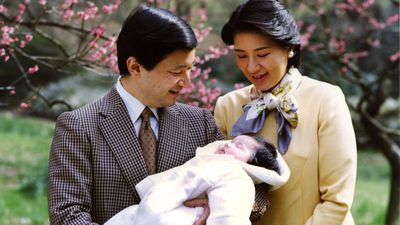 Crown prince Naruhito and Masako Odawa