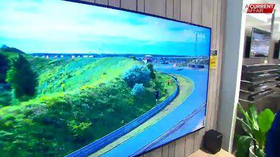 Samsung also took a top spot for TVs.