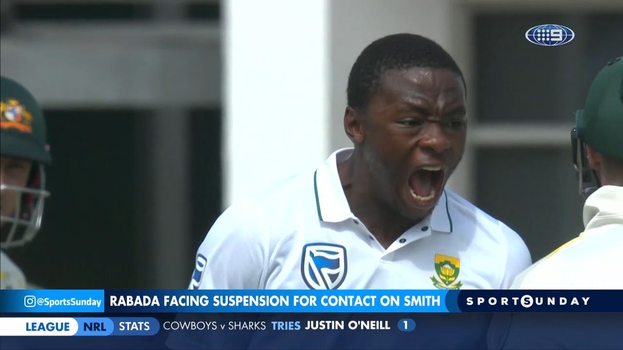 Proteas appeal Rabada's two-Test ban