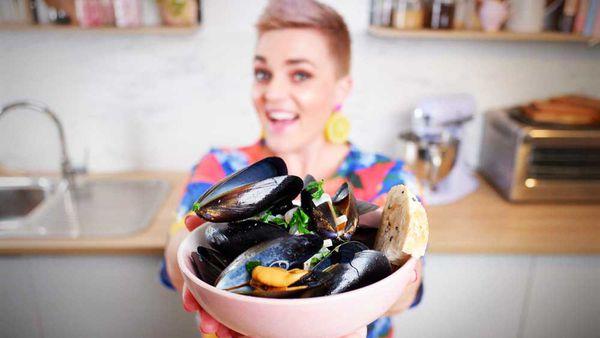 Jane de Graaff's ten minute bargain seafood dinner