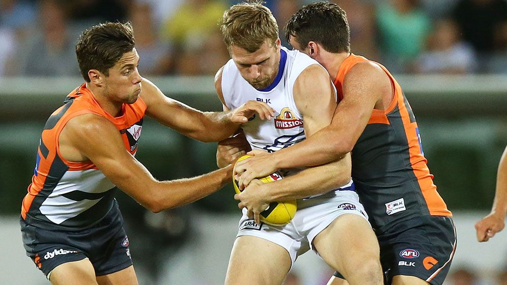 Stringer stars, Dogs beat GWS in AFL trial
