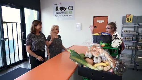 The Hope Centre helped feed the hungry of the region.