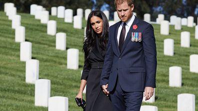 Prince Harry, Meghan Markle mark Remembrance Sunday 2020 in LA