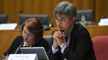 Penny Wong has decried hate speech.