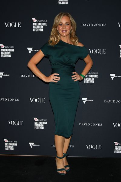 TV host Carrie Bickmore in Country Road