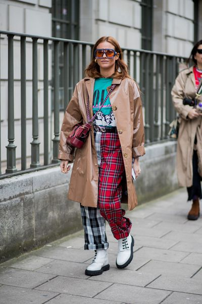 Tartan is your gateway drug to the new grunge