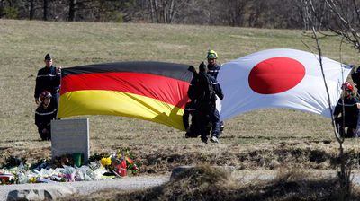 "<p>There are still dozens of victims yet to be accounted for as rescuers continue to scour the crash site for remains and the ill-fated plane's flight data recorder. </p><p> Forensic teams have identified 78 distinct DNA strands from body parts spread some 200m across the remote countryside of the French Alps, killing all 150 people on board. Between 400 and 600 body parts have been located and are currently being examined. </p><p> ""We haven't found a single body intact,"" Patrick Touron, the deputy director of the police's criminal research institute, told the <a href="" http://www.theguardian.com/world/2015/mar/29/forensic-teams-identify-78-dna-strands-from-remains-at-germanwings-crash-site "">Guardian </a>.</p><p> Among the missing are Japanese nationals Satoshi Nagata and Junichi Sato, who the Japanese foreign ministry confirmed were on the passenger list. Both men lived in Düsseldorf, Germany.</p><p> ""It is very likely that they were on board,"" a ministry official said. </p><p> Germans and Spaniards make up the most of the other missing passengers, as well as one Dane, one Argentine, two Mexicans, two Venezuelans, one Chilean and one Kazakh.</p><p> Rescuers are also yet to locate the plane's second black box — its flight data recorder. So far, only its empty protective casing has been uncovered along with the cockpit voice recorder. (AAP)</p>"