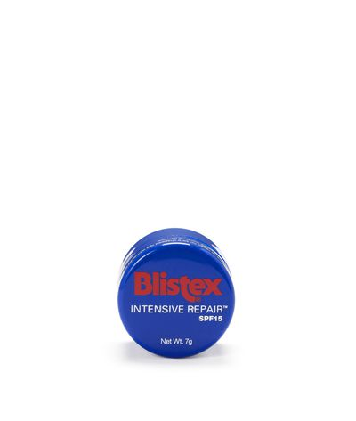 """<p><a href=""""https://www.priceline.com.au/blistex-intensive-repair-spf15-7-g"""" target=""""_blank"""">Blistex® Intensive Repair, $5.95.</a><br> This lip balm not only restores moisture it provides a soft, matte-like finish that is oh so on trend right now. And hello! It's the price of two coffees. One and a half if you live in Sydney.</p> <p> </p>"""