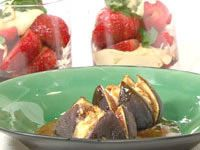 Walnut and ricotta stuffed figs
