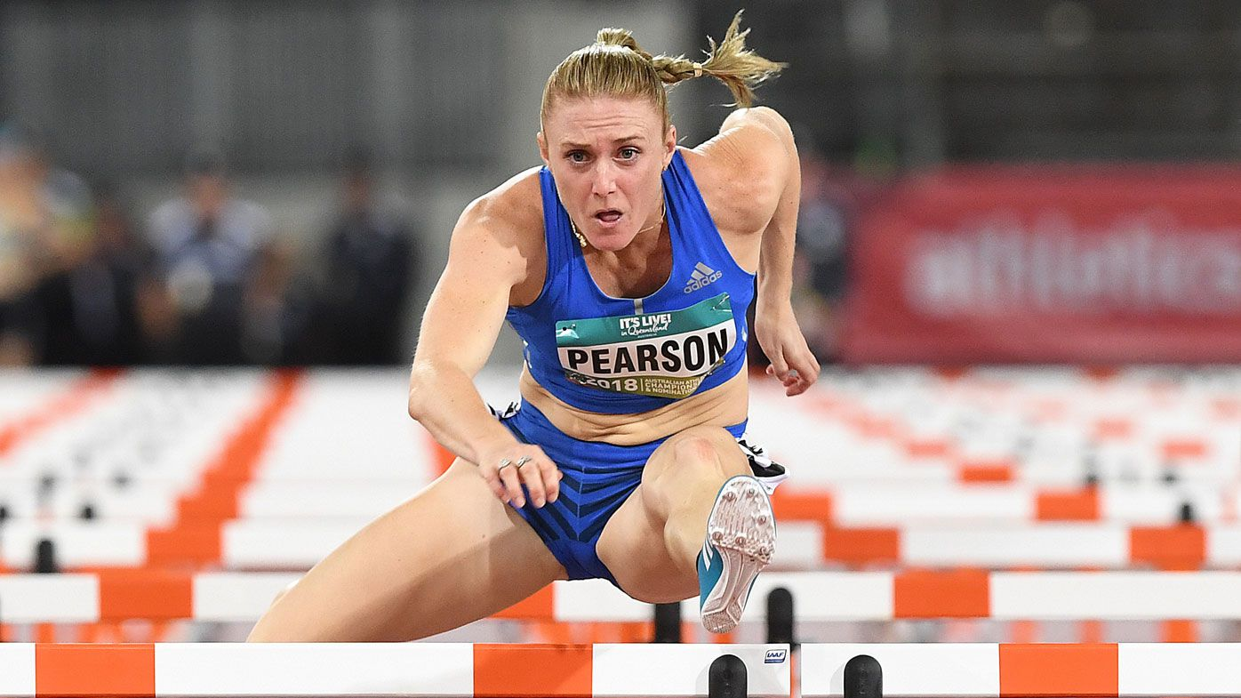 Sally Pearson wins 100m hurdles at Commonwealth Games trials on the Gold Coast