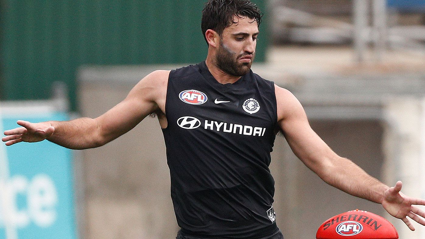 Carlton's new forward Fasolo set to miss start of 2019 AFL season