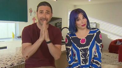 The Block's Tanya and Vito on Today