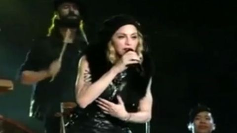 Watch: Madonna 'forgives' rival Elton John with song that cost him a Golden Globe