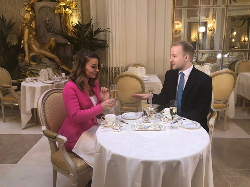 An afternoon tea at the Ritz London offered some lessons in etiquette.