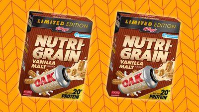 Kellogg's release Nutri-Grain and vanilla Oak flavoured milk mash-up