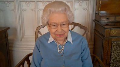 Queen Elizabeth congratulates the KPMG team on their 150th Anniversary