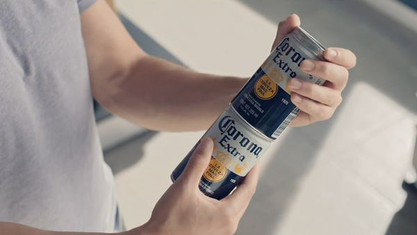 Corona creates stackable cans to combat waste