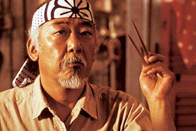 Aka Mr Miyagi from <i>Karate Kid</i>