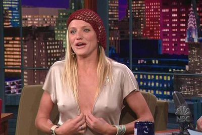 It's safe to say that Jay Leno will <i>never</i> forget this interview with Cameron Diaz.
