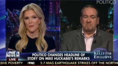 "<p _tmplitem=""1"">A US Fox News host has hit back at a conservative guest who had earlier complained about New York's ""trashy"" women.</p><p _tmplitem=""1""> Megyn Kelly, who lives in the Big Apple, waited until the end of former Arkansas governor Mike Huckabee's interview to serve the outspoken presidential hopeful an <a _tmplitem=""1"" href="" http://www.nydailynews.com/news/politics/megyn-kelly-hits-back-mike-huckabee-trashy-comments-article-1.2096296 ""> unwelcome reality check</a>. </p><p _tmplitem=""1""> ""I do have news for you before I let you go,"" Kelly told Huckabee on her show, The Kelly File, on Wednesday night. </p><p _tmplitem=""1""> ""We are not only swearing. We're drinking, we're smoking, we're having premarital sex with birth control before we go to work, and sometimes boss around a bunch of men."" </p><p _tmplitem=""1""> Huckabee, who is yet to confirm his 2016 White House bid, laughed but was clearly taken aback. </p><p _tmplitem=""1""> ""I just don't want to hear that,"" he joked. </p><p _tmplitem=""1""> Kelly's comments come one week after Huckabee revealed in a radio interview that he was offended when in New York he would hear women swearing in public. </p><p _tmplitem=""1""> ""In the South, or in the Midwest, there in Iowa, you would not have people who would just throw the F-bomb or use gratuitous profanity in a professional setting,"" Huckabee told radio host Jan Mickelson in a Friday appearance on Des Moines' Mickelson in the Morning. </p><p _tmplitem=""1""> ""In New York, not only do the men do it, but the women,"" he said. ""My gosh, this is worse than locker-room talk. ""As we would say in the south, that's just trashy."" </p><p _tmplitem=""1""> Click through to see Kelly's wisecrack and other television hosts who smack down their guests. </p>"