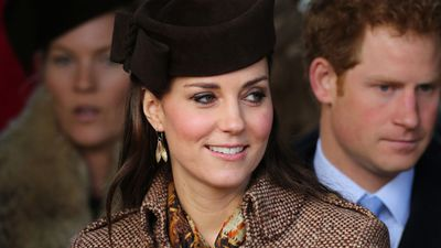 It is Kate's own middle name too. (AAP)