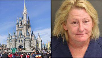 Ellen McMillion has copped a lifetime ban from Disney World after getting into a fight over cigarettes.