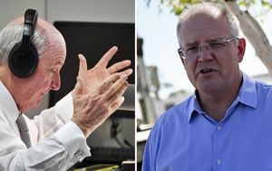 'There's no magic wand': Morrison defends drought action after touching call to farmer
