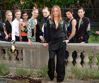 <p>Miranda Kerr, Liv Tyler, Cara Delevingne and more came out to play to celebrate Stella McCartney's Resort 2016 collection. </p>