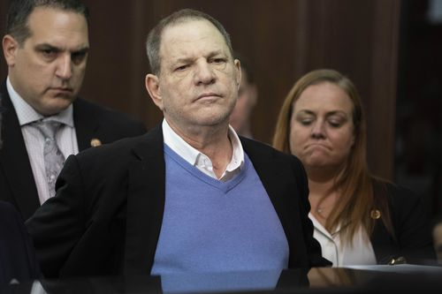 More than 70 women have accused the co-founder of the Miramax film studio and Weinstein Co of sexual misconduct. (AAP)