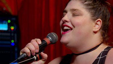 Bianca Saez's emotional musical performance