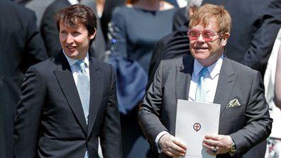 James Blunt and Elton John.