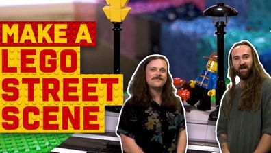 How to make a LEGO street scene